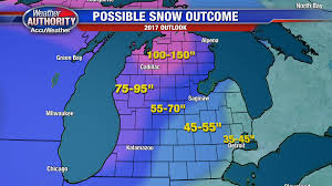 Michigan Weather Map by Detroit U0027s 2016 17 Winter Outlook Colder And Snowier Weather In