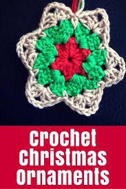 crochet christmas crochet christmas ornaments the crafty mummy