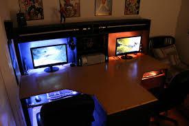 Pc Desk Setup Uncategorized Cool Computer Setups And Gaming Setups Gaming Pc