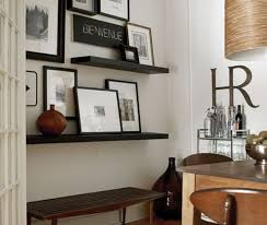lack floating wall shelf black brown furniture source philippines