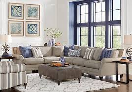 sectional in living room piedmont transitional sectional living room furniture collection