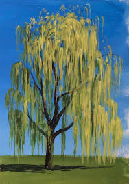 learn how to paint a willow tree in acrylics with jon cox as part