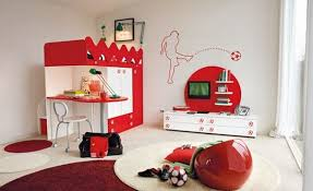 Modern Children Bedroom Ideas For The Contemporary Home - Football bedroom ideas