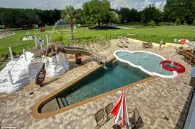 florida u0027s sweet estate features a swimming pool shaped like an ice