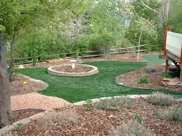 Arizona Backyard Landscaping by Turf Grass Sacaton Arizona Backyard Deck Ideas Backyard