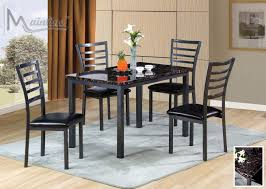 fairmont table 4 chairs 22000 mainline inc casual dining sets at