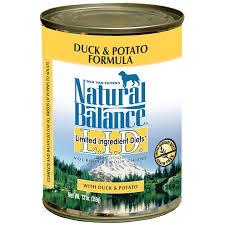 natural balance l i d limited ingredient diets duck u0026 potato