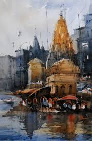 indian watercolor artists nitin singh watercolor pinterest