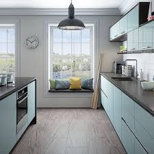kitchens kitchen units magnet integra fusion blue