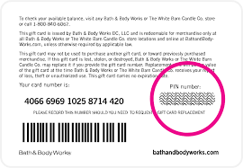 gift card online gift cards bath works