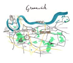 Greenwich England Map by Emmanuel Church London Serving South East London
