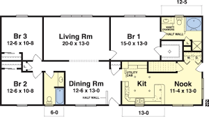 Single Story Ranch Homes Livingston By Simplex Modular Homes Ranch Floorplan