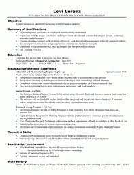 Experienced Professional Resume Template Engineer Resume Examples Resume Sample For Project Industrial