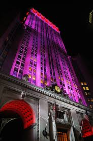 Empire State Building Halloween Light Show City U0027s Towers In Led Arms Race To Get Brightest Spot In Skyline