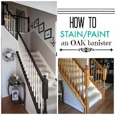 how to make a banister for stairs timeless and treasured my three girls diy how to stain and