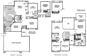 Garage Loft Floor Plans La Costa Valley Westfield Carlsbad Homes