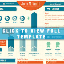 Infographic Resume Template Free Infographic Resume Template Seasoned Pro Infographictemplates