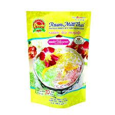 instant cuisine รวมม ตรไทย instant three mix tapioca dessert ruam mitt v
