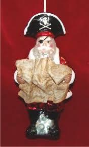 pirate santa glass ornament 650 glass ornaments world