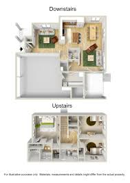 Floor Plans For 2 Bedroom Apartments 3 Bed 2 5 Bath Apartment In Tarawa Terrace Nc Jacksonville Nc