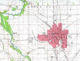 Iowa State Campus Map Iowa State Map Large Detailed Old Administrative Map Of Iowa