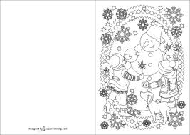 happy new year preschool coloring pages children and snowman are celebrating happy new year card coloring