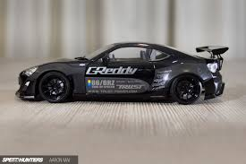 subaru brz custom rocket bunny the next best thing building a 1 24 rocket bunny 86 speedhunters