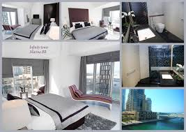waterfront suite at iconic tower apartments for rent in dubai