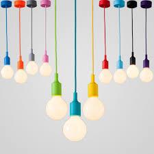 impressive on colorful pendant lights for home decorating plan art