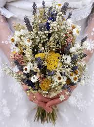 dried flower arrangements festival meadow dried flower wedding bouquet by the artisan dried