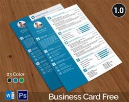 resume business cards resume template resume template with business card resume