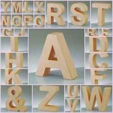 3d letters crafts ebay