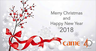came wishes you merry and happy new 2018 came spa