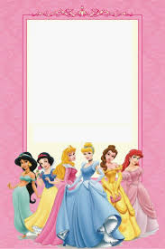 free printable disney princess ticket invitation template drevio