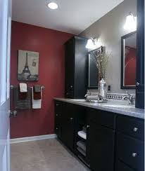 Master Bathroom Remodeling Ideas Colors Best 25 Red Bathrooms Ideas On Pinterest Paint Ideas For