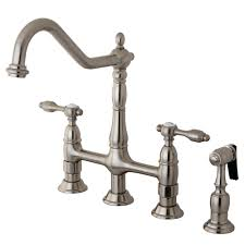 Bridge Kitchen Faucet Bridge Kitchen Faucets Kingston Brass