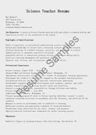 Computer Science Resume Templates Conservation Scientist Resume Template