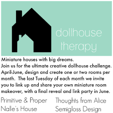 may dollhouse therapy challenge reveal semigloss design for may i worked on my living room and master bedroom in the living room i added gingham fabric to the walls for a fun pattern i love gingham so much