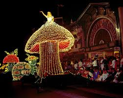 Main Street Lighting Sixty Years Of Innovation Main Street Electrical Parade Lights Up