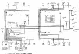 standard body and power wiring circuit diagram of 1966 cadillac