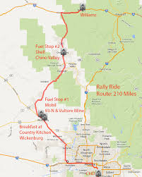 Sierra High Route Map by Riding Maps Foothills H O G Chandler Arizona