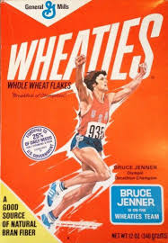 bruce jenner u0027s 1976 wheaties cereal box up for sale on ebay ny