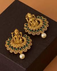 danglers earrings design buy traditional silver gold danglers earrings for women