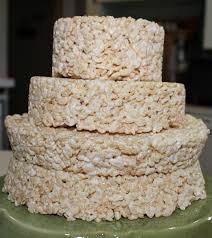 wedding cake layer rice krispies wedding cake savvy entertaining