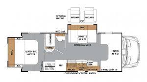 Coachmen Class C Motorhome Floor Plans Coachmen Prism 2250le Diesel Class C Motorhome Floor Plan