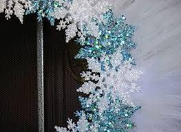 Frozen Christmas Decorations 8 Lavender Wreath W Dish