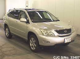 toyota lexus harrier 2004 2004 toyota harrier silver for sale stock no 33407 japanese