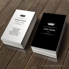 stylist elegant royal black white business card business cards
