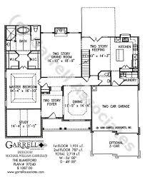 house plans master on blakeford house plan house plans by garrell associates inc