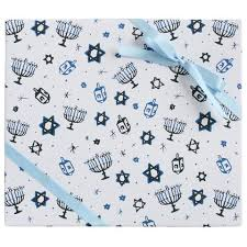 hanukkah wrapping paper gift wrap